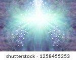 cooling stream of purple jade... | Shutterstock . vector #1258455253
