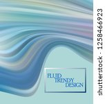 modern colorful flow poster.... | Shutterstock .eps vector #1258466923