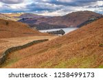 helm crag is a fell in the... | Shutterstock . vector #1258499173