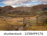 helm crag is a fell in the... | Shutterstock . vector #1258499176