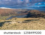 helm crag is a fell in the... | Shutterstock . vector #1258499200