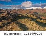 helm crag is a fell in the... | Shutterstock . vector #1258499203