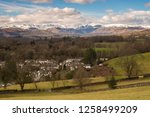 helm crag is a fell in the... | Shutterstock . vector #1258499209