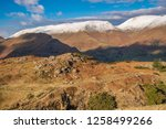 helm crag is a fell in the... | Shutterstock . vector #1258499266