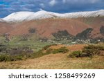 helm crag is a fell in the... | Shutterstock . vector #1258499269