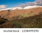 helm crag is a fell in the... | Shutterstock . vector #1258499290