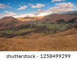 helm crag is a fell in the... | Shutterstock . vector #1258499299