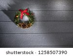 close up view of christmas and... | Shutterstock . vector #1258507390