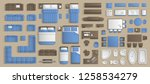 icons set of interior....   Shutterstock .eps vector #1258534279