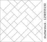 mondrian pattern vector. design ... | Shutterstock .eps vector #1258555150