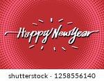 happy new year illustration...   Shutterstock .eps vector #1258556140