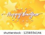 happy new year illustration...   Shutterstock .eps vector #1258556146