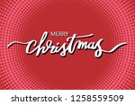 merry christmas illustration...   Shutterstock .eps vector #1258559509