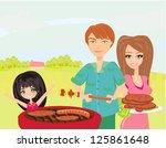 a vector illustration of a... | Shutterstock .eps vector #125861648