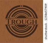 trough badge with wood...   Shutterstock .eps vector #1258657909