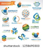 elegant  business  vector icon | Shutterstock .eps vector #1258690303