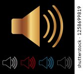 sound vector icon  eps 10