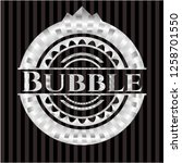 bubble silvery badge or emblem   Shutterstock .eps vector #1258701550