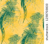 various pen hatches. seamless... | Shutterstock .eps vector #1258703833