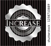 increase silver badge   Shutterstock .eps vector #1258710889