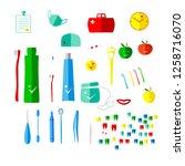 vector illustration is suitable ...   Shutterstock .eps vector #1258716070