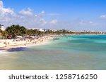 playa del carmen  mexico | Shutterstock . vector #1258716250