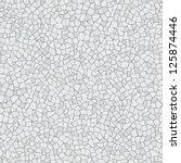 broken tiles mosaic  trencadis  ... | Shutterstock .eps vector #125874446