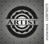 artist black badge   Shutterstock .eps vector #1258750273