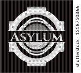 asylum silver badge   Shutterstock .eps vector #1258750366