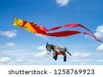 Colorful Huge Kites In The...