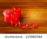 holiday background with gift... | Shutterstock .eps vector #125880386