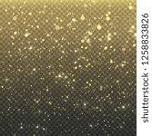 glitter stardust particles....   Shutterstock .eps vector #1258833826