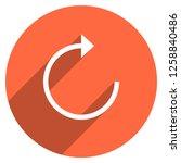 arrow sign reload  refresh ... | Shutterstock .eps vector #1258840486