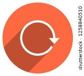 arrow sign reload  refresh ... | Shutterstock .eps vector #1258840510