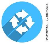 arrow sign reload  refresh ... | Shutterstock .eps vector #1258840516