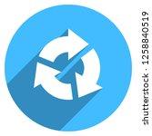 arrow sign reload  refresh ... | Shutterstock .eps vector #1258840519