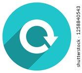 arrow sign reload  refresh ... | Shutterstock .eps vector #1258840543