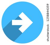 arrow sign direction icon in... | Shutterstock .eps vector #1258844359