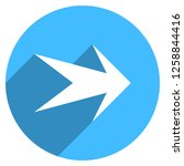 arrow sign direction icon in... | Shutterstock .eps vector #1258844416