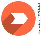arrow sign direction icon in... | Shutterstock .eps vector #1258844449