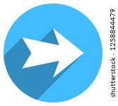 arrow sign direction icon in... | Shutterstock .eps vector #1258844479