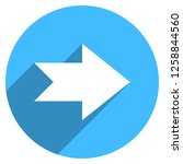 arrow sign direction icon in... | Shutterstock .eps vector #1258844560