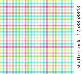 checkered pattern. linear...   Shutterstock . vector #1258858843
