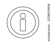 information icon. simple...