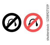 headphones symbol sign ban ...