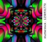3d render of plastic background ...   Shutterstock . vector #1258931770