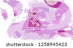 abstract vector background dot... | Shutterstock .eps vector #1258945423