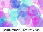 multicolored translucent... | Shutterstock . vector #1258947736