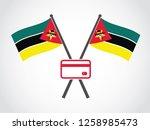 mozambique emblem debit card   Shutterstock .eps vector #1258985473