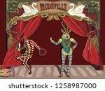 the vector illustration of... | Shutterstock .eps vector #1258987000